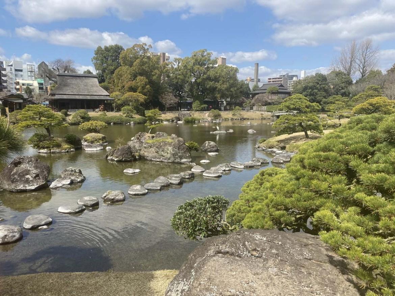 Jardin japonais Suizenjo Jojuen à Kumamoto