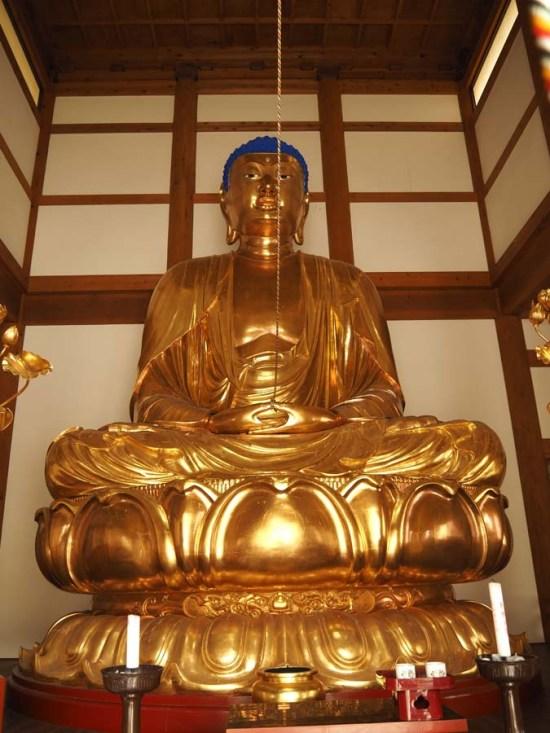 Bouddha géant à Unzen Onsen