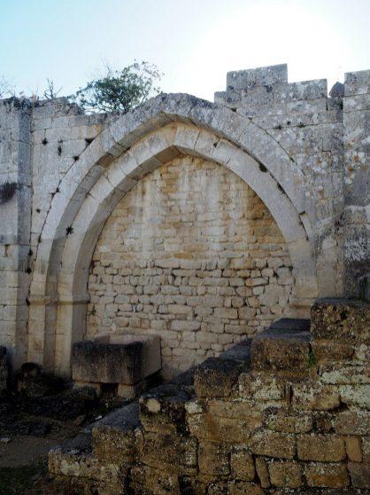 Eglise du fort de Buoux