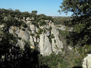Vue depuis le fort de Buoux