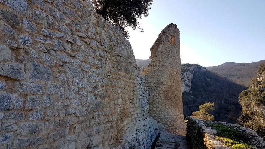 Fort de Buoux dans le Luberon