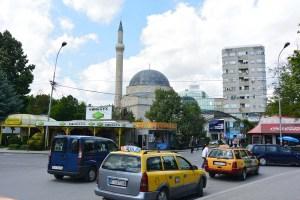 Centre ville de Bitola et sa mosquée