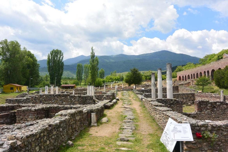 Site arcgéologique Heraclea Lyncestis de Bitola