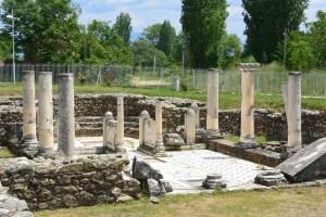 Basilique d'Heraclea Lyncestis, Macédoine
