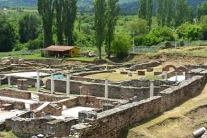 Cité archéologique Heraclea Lyncestis, Macédoine