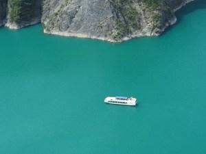 Bateau La Mira au lac de Monteynard