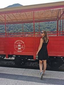 A bord du petit train historique de La Mure