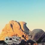 Camping in Joshua Tree