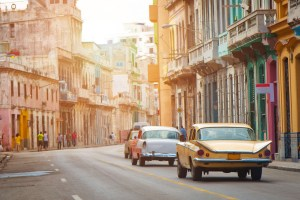 Havana, Cuba photo with cars