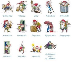 Yule Lads in Iceland