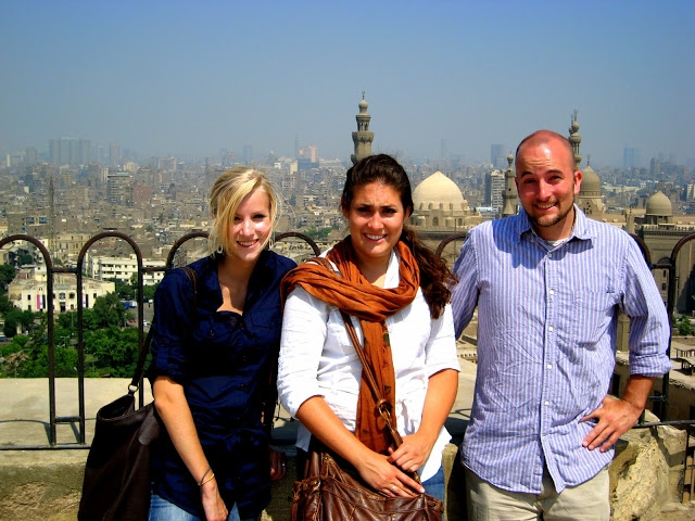 overlooking cairo