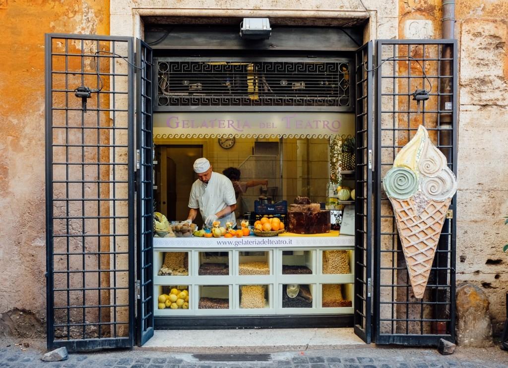 best gelato Rome