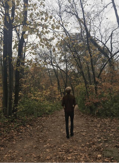 minneapolis fall color walk
