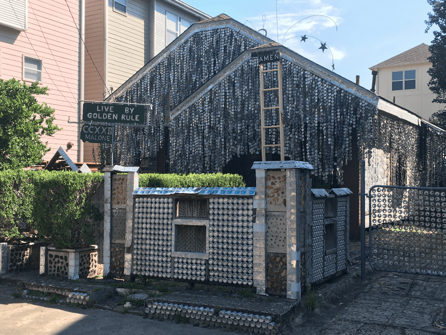 beer can house houston