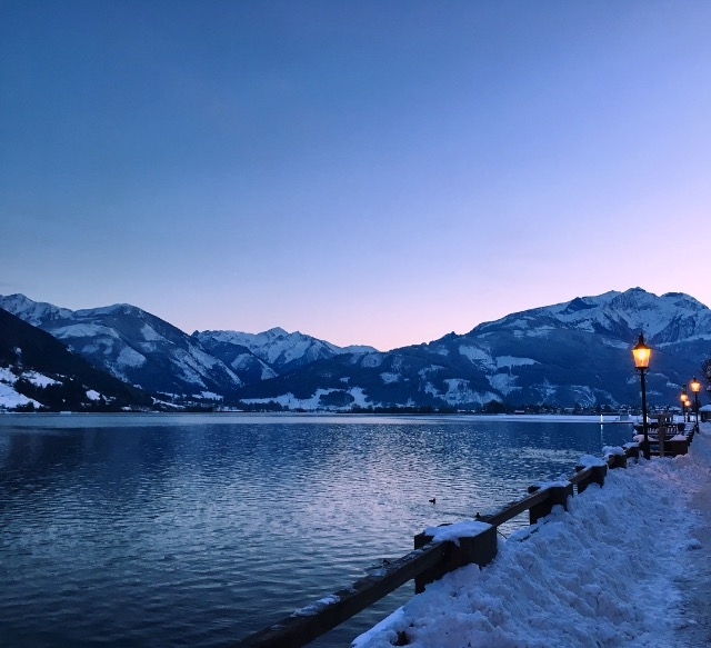 zell am see austria winter