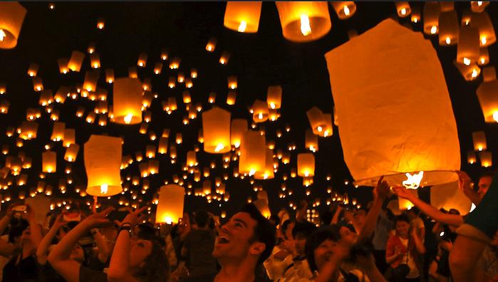 lantern festival thailand
