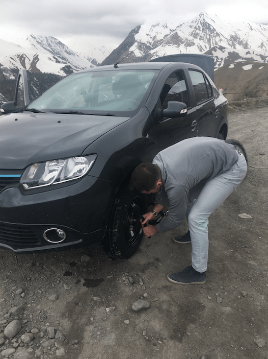 flat tire georgia