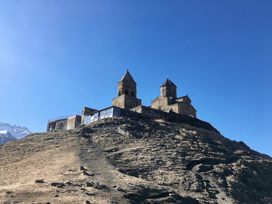 gergeti trinity church hike
