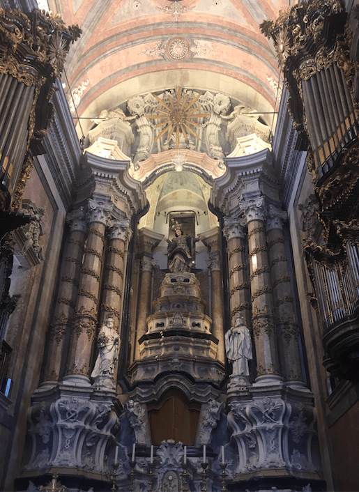 cathedrals in porto