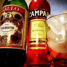 Americano Cocktail Recipe IBA