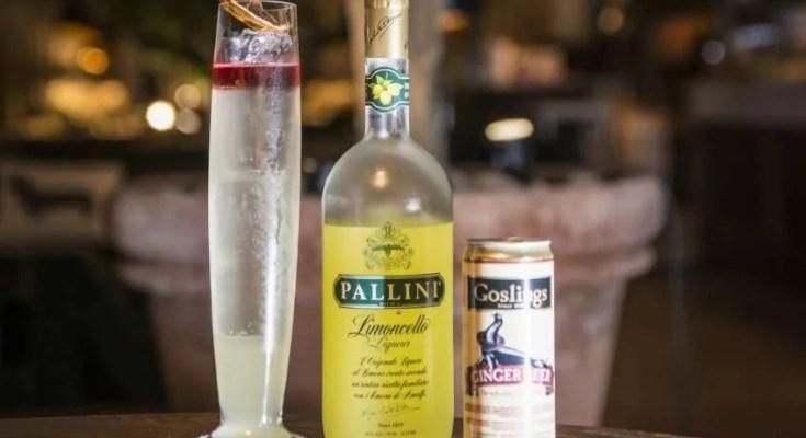 Spiced citrus cocktail d'autore