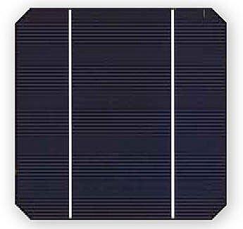 células solares feitas de silício preto