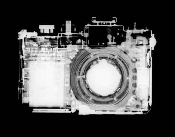 Câmera fotográfica. Tomografia computadorizada