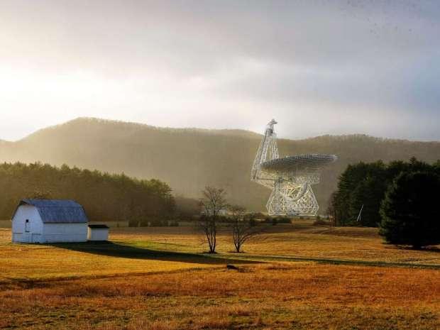 O telescópio Green Bank