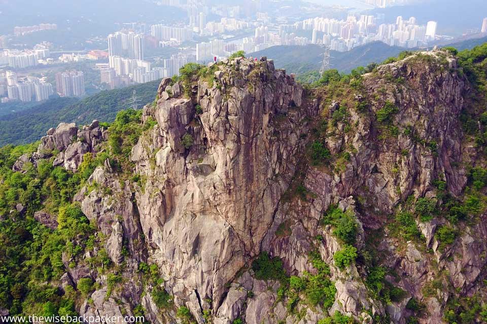 Climbing up Hong Kong Lion Rock from Tai Wai Station