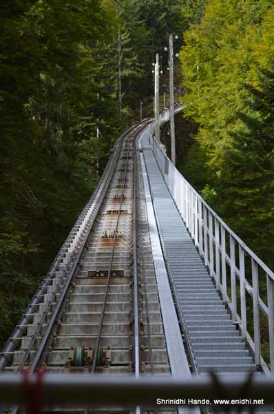 The World's Longest Staircase - Nieson Switzerland