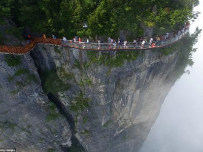 Tianmen mountain sky walk
