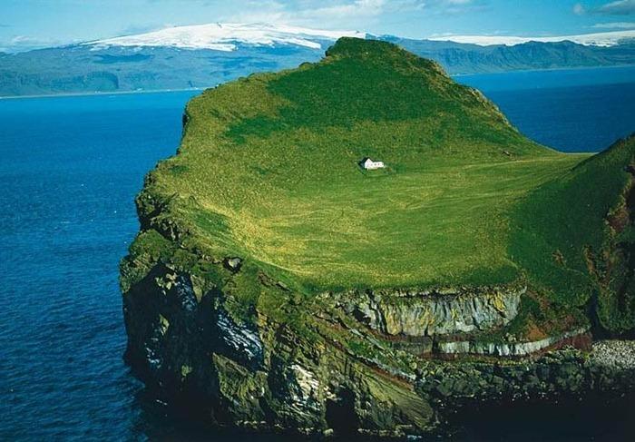 ellidaey remote island