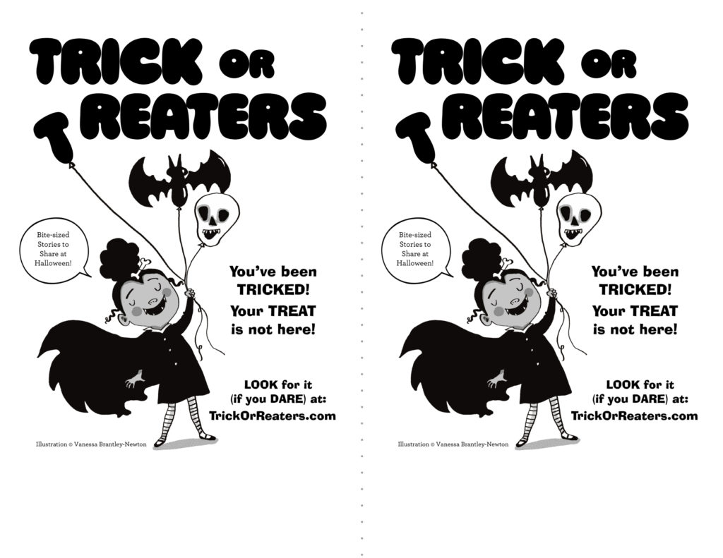 Trick or Reaters: Add Literacy to Halloween + Giveaway