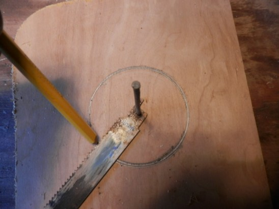 wire spool clock DIY how-to cable spool vintage salvage