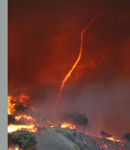 how to atmospheric change after mountain fire