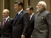 Russia, India and China coming together