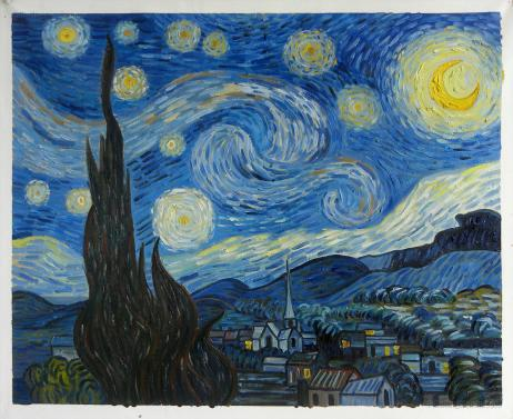 starry night- painting . Art and artists