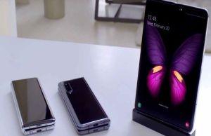 Samsung fold phone