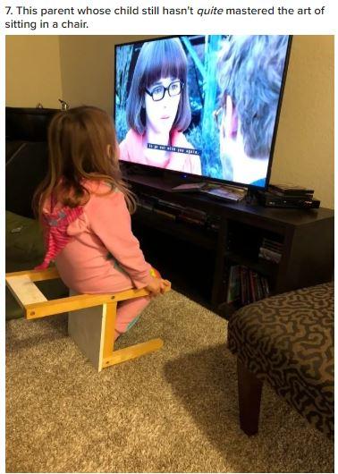 mom fail for sitting near tv