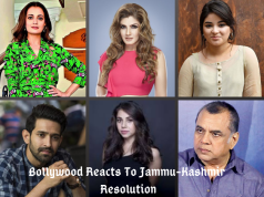 bollywood stars reaction to article 370 news