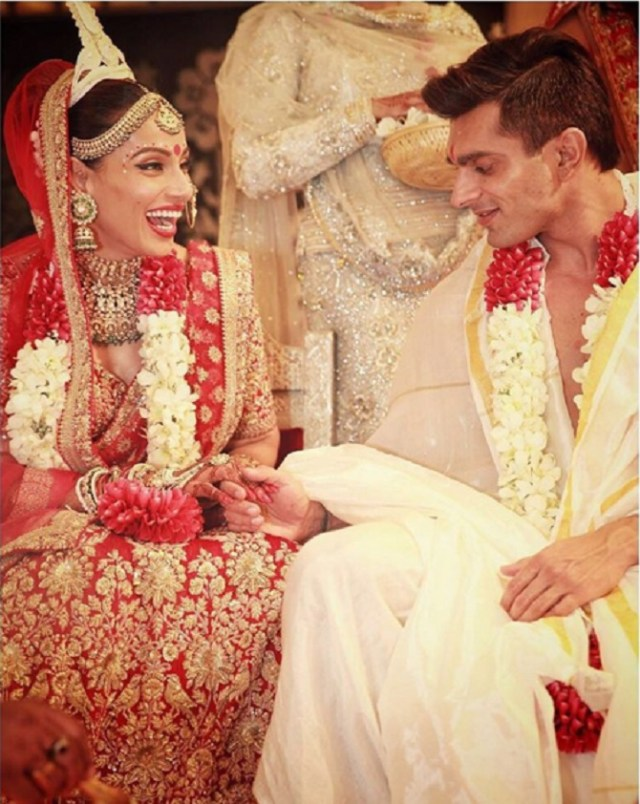 Bipasha Basu Bollywood Star Wedding Dress