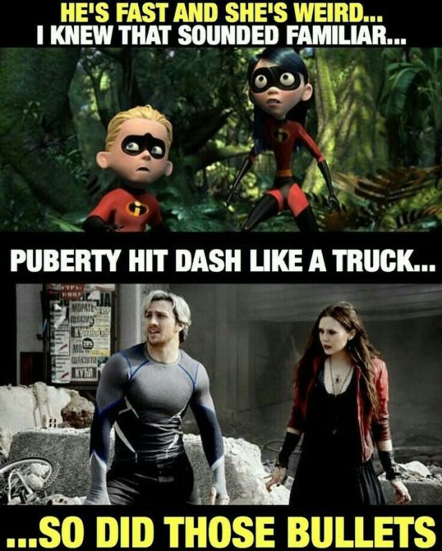 Scarlet Witch and Quicksilver Memes
