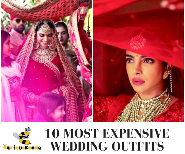 Celebrities Wedding Outfits
