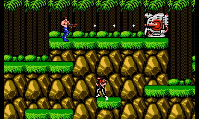 contra video games