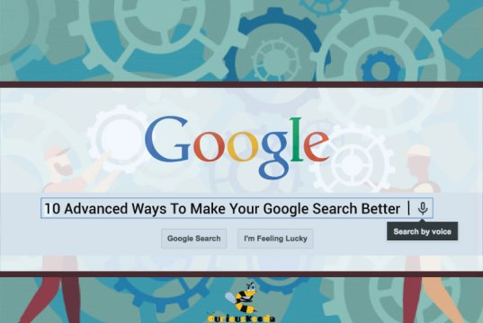 Banner on google searches
