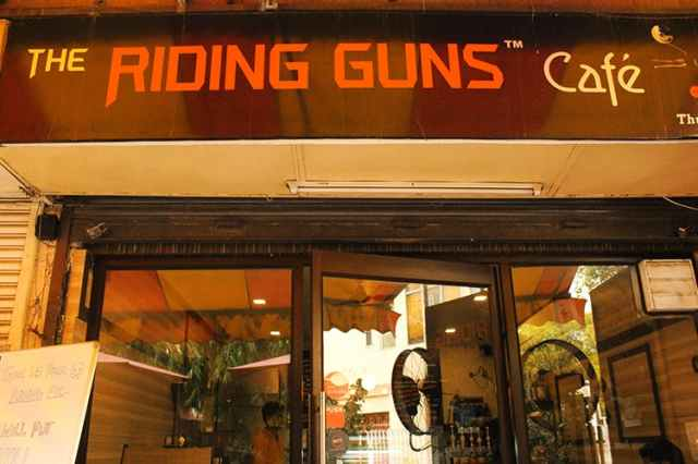 Riding Guns Cafe Coffee