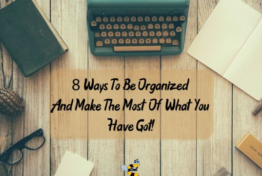 better organization tips
