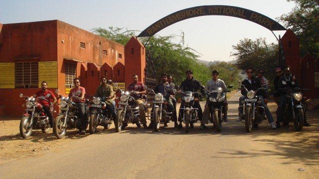 Ranthambore Bike tour