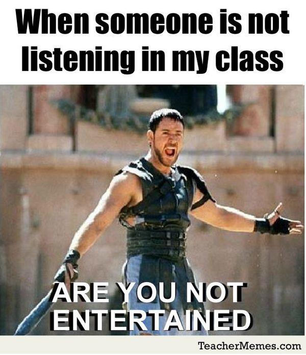struggle of a teacher