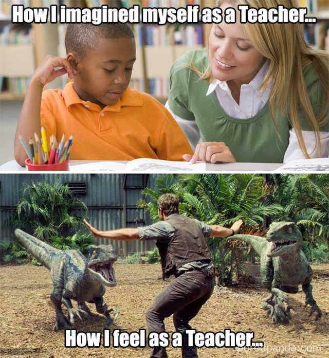 teacher struggle